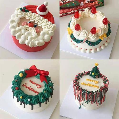 新年网红创意新鲜水果生日蛋糕南京上海无锡广州全国
