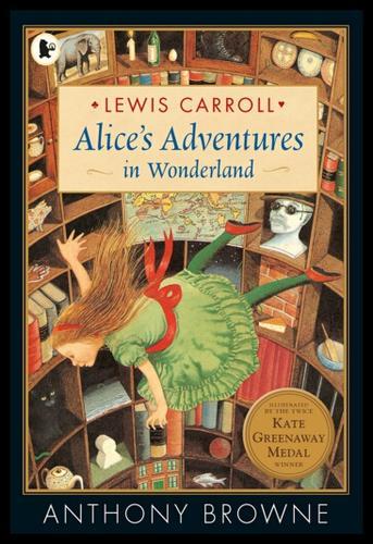 英文原版 爱丽丝梦游仙境 安东尼布朗插图 alice's adventures in