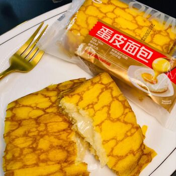 千业蛋皮面包整箱4斤乳酪夹心吐司营养早餐面包夹心糕点零食点心送