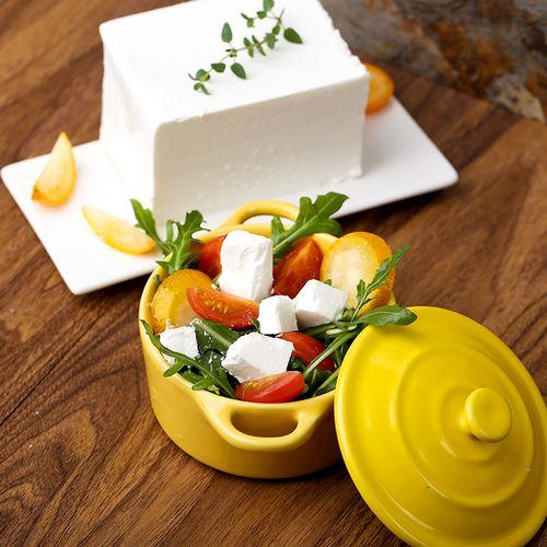 琪雷萨地中海式红盒发达菲达白奶酪德国进口feta cheese芝士10.29