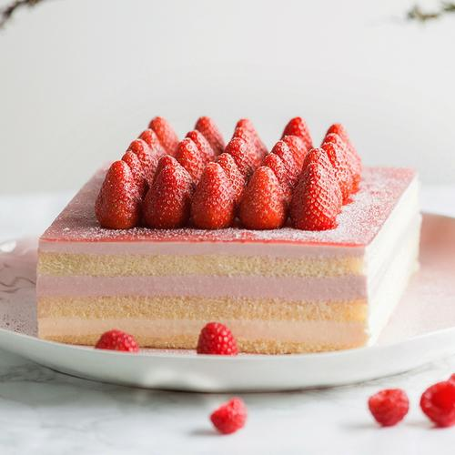 树莓优格慕斯蛋糕-2磅198元(黄石)