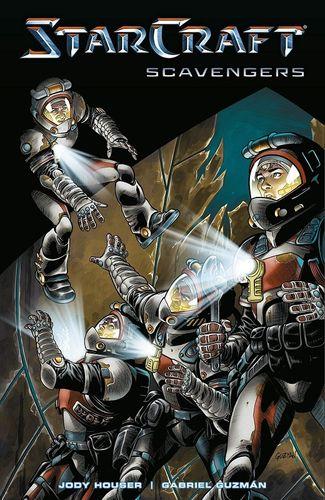 星际争霸:拾荒者 漫画1 英文原版 starcraft: scavengers 动画&漫画