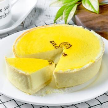 新鲜现做 芝洛洛6寸半熟熔岩芝士蛋糕原味手工重乳酪芝士糕点 网红