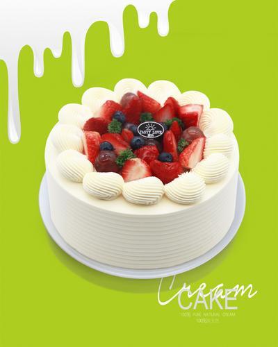 【小甜心-纯动物奶油】恋上草莓【如需配送,请联系