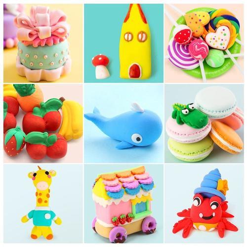 软陶泥工具套装儿童手工制作材料橡皮泥粘土diy玩具