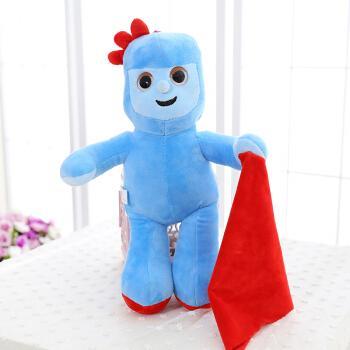 正版花园宝宝毛绒玩具套装 玛卡巴克公仔依古比古玩偶 汤姆布利柏 天
