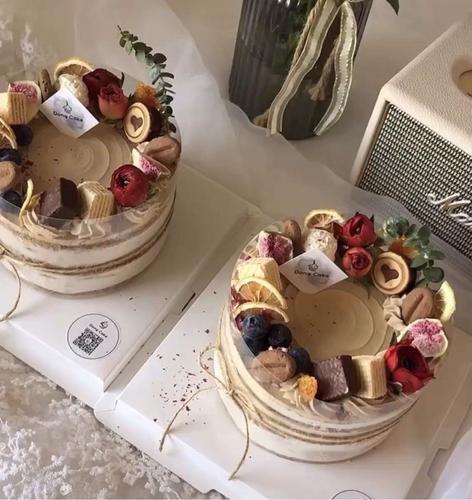爱心饼干巧克力慕斯生日蛋糕装饰可食用清新配件摆件