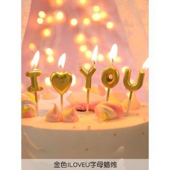 2021新款派对生日蜡烛蛋糕用装饰儿童礼物品数字ins创意可爱造型卡通