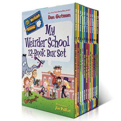 my weirder school 章节书 美国小学阅读教材 儿童英语读物 英文版