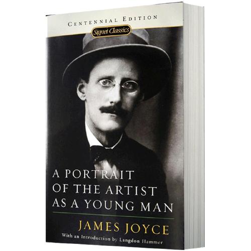 华研原版 一个青年艺术家的肖像 a portrait of the artist as a