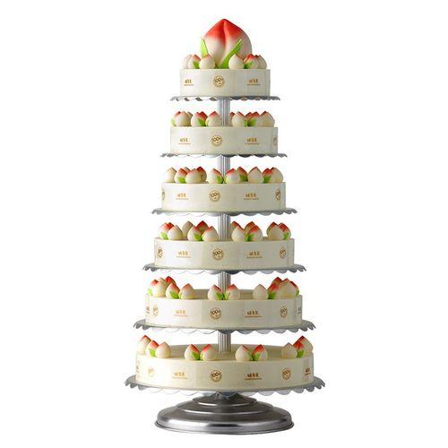 味多美 多层祝寿蛋糕 大型庆典蛋糕 生日蛋糕同城配送