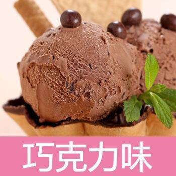 硬冰淇淋粉自制家用手工商用原料哈根软冰激凌雪糕粉达斯 100g 巧克力