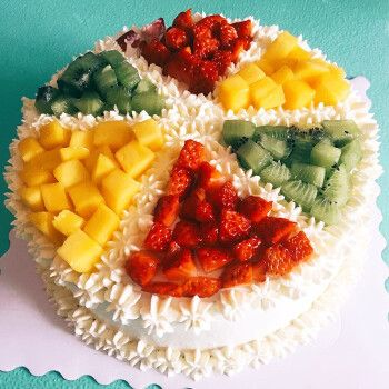 杉茵生日蛋糕送父母老婆长辈全国同城配送儿童祝寿新鲜水果网红蛋糕