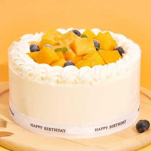 芒果奶油-鲜果蛋糕