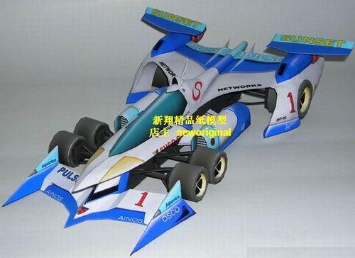 2米 高智能方程式赛车模型