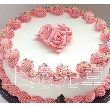 【正品】厂家自营 先卓仿真蛋糕模型 塑胶生日蛋糕模型 简单裱花