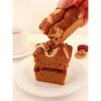 红枣核桃蛋糕整箱面包营养早餐红枣泥传统糕点小吃枣糕零食 枣夹核桃