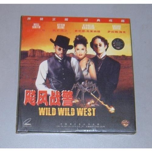 正版 vcd 电影 飙风战警 wild wild west 中凯山力