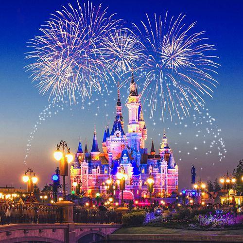 上海迪士尼乐园酒店1晚+迪士尼乐园双人一日门票可提前1h入园