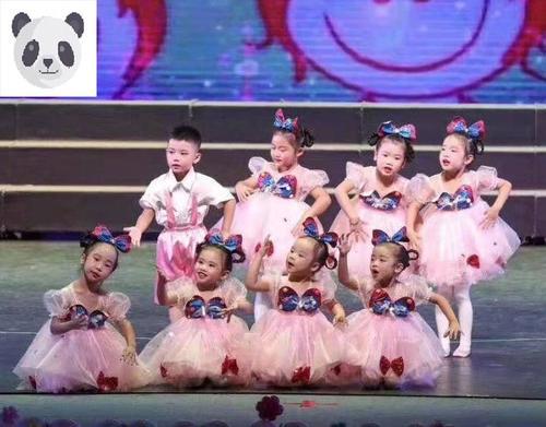 六一儿童演出服幼儿园舞蹈服女童蓬蓬纱裙可爱娃蝴蝶连衣裙表演服