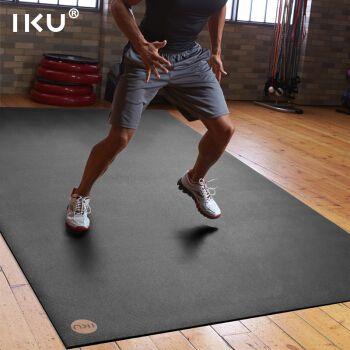 iku健身垫大型家庭运动垫 p90x/t25/insanity跳操垫耐磨高强度抗震