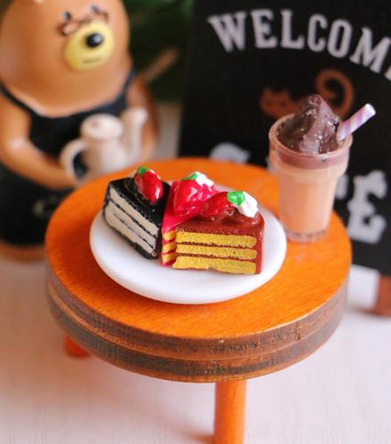 riddle*store~dollhouse迷你食玩~迷你小甜點蛋糕