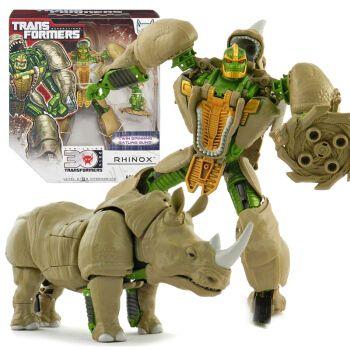 变形玩具金刚美版猛兽侠超能勇士bw日版mp黑猩猩犀牛黄豹恐龙红龙