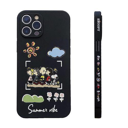 手机壳适用iphone12 pro max苹果11侧面12硅胶78苹果xr卡通xs