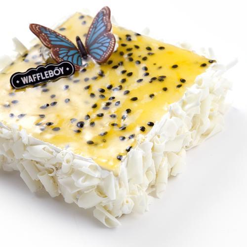 「百香」慕斯蛋糕仅有售