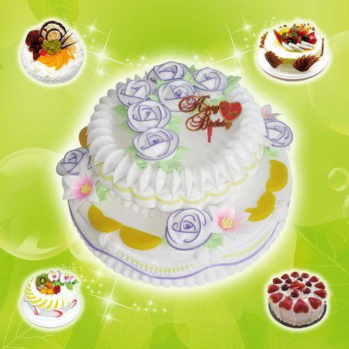 海报印制90素材蛋糕图片海报展板97