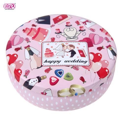 订婚糖盒结婚回礼糖盒清新玫瑰花茶礼盒生巧慕斯蛋糕