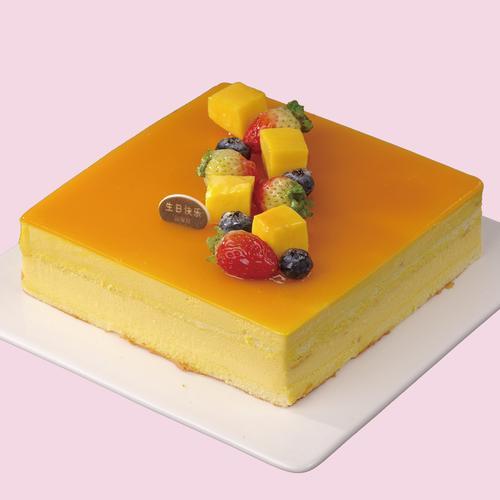 f01芒果慕斯/慕斯蛋糕  请提前一天下单预订