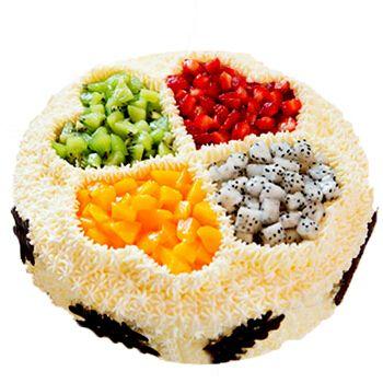 生日蛋糕当日送达新鲜水果巧克力双层祝寿订做蛋糕千层慕斯预定儿童