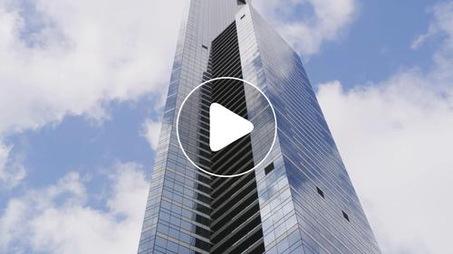 城市摩天大楼云层地产混剪视频素材