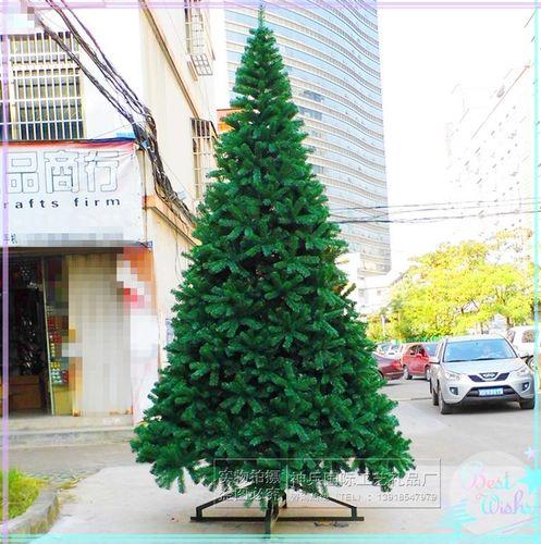 圣诞树厅6米大型树3m室内圣诞树5米套餐加密3米4米