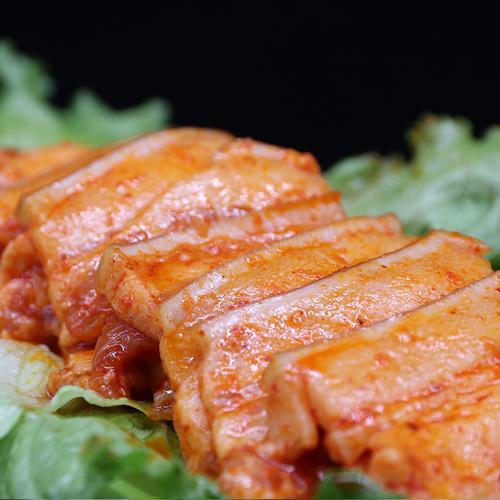 【户外烧烤】腌制五花肉
