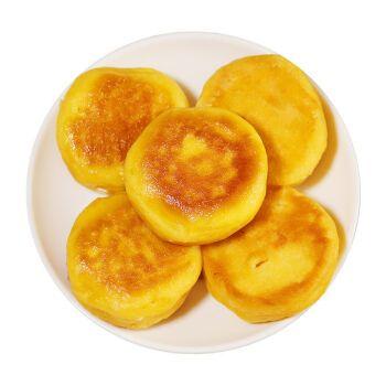 小吃黄金嫩玉米饼杂粮食品早餐半成品可即食玉米馒头烧饼 黄金玉米饼