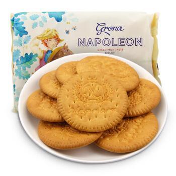 乌克兰进口牛奶味饼干290g古早味代餐休闲零食