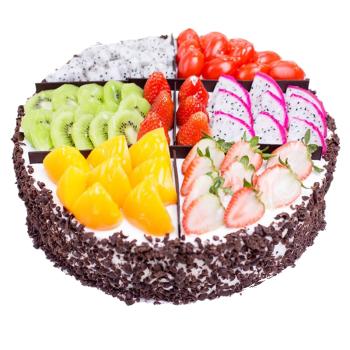 预定制祝寿水果安徽阜阳生日蛋糕同城速递涡阳蒙城利辛东至石台青阳