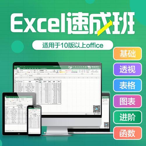 excel速成班office教程零基础办公软件视频学习课程r