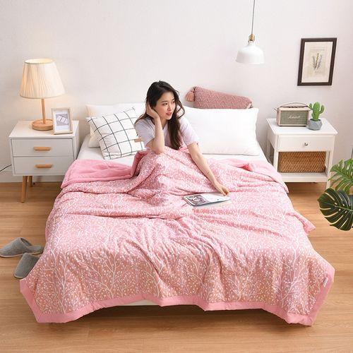 夏凉被空调被被子被芯亲肤舒适水洗棉可机洗薄款卧室公寓床上用品