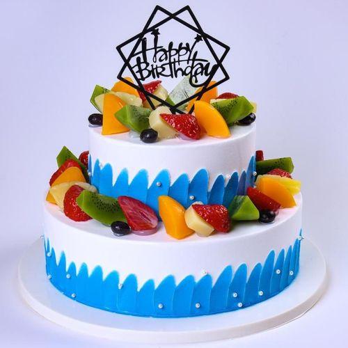 甜品店多层道具双层蛋糕模型过寿流行加高羽毛三层双层网女王摆设