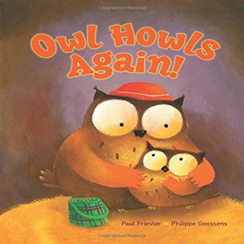 猫头鹰又在叫 英文原版 owl howls again!
