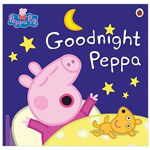 peppa pig 英文版 绘本小猪佩奇goodnight peppa 粉红猪小妹晚安 英文
