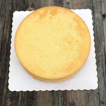 【精选好物】戚风蛋糕坯 奶油蛋糕坯 原味戚风蛋糕 原味8寸