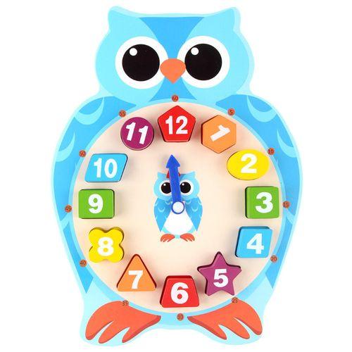 xing  ge  jun1-3岁宝宝益智玩具男女孩木质数字形状认知时钟儿童早教