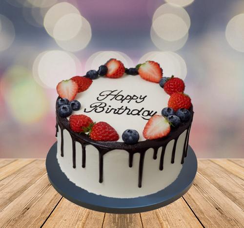 新款网红水果羽毛皇冠玫瑰仿真假生日蛋糕模型模具