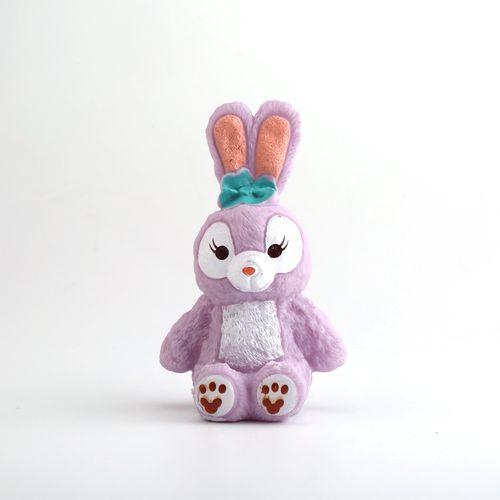 搪胶星黛露公仔蛋糕装饰摆件兔子星黛露生日烘焙情景装扮模型
