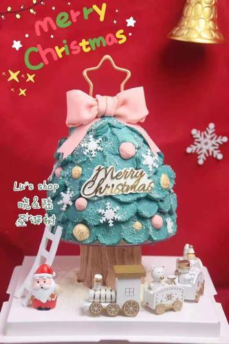 圣诞树 蛋糕