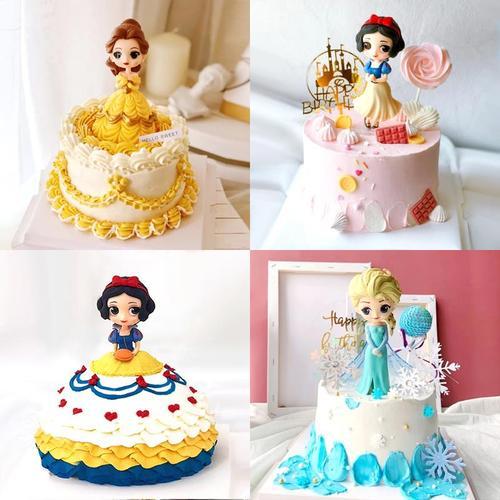 烘焙蛋糕装饰小公主蛋糕摆件女孩女神儿童女生创意甜品台装扮用品